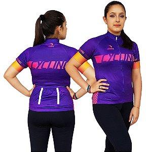 Camisa Ciclismo Feminina SD21 F03