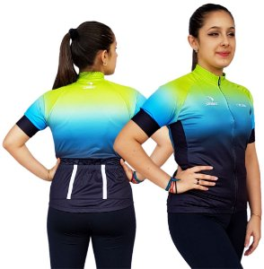 Camisa Ciclismo Feminina SD21 F06