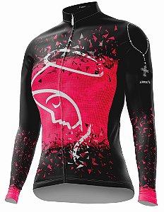 Camisa Ciclismo Sódbike NSA Pink Flanelada