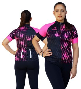 Camisa Ciclismo Feminina SD21 FL04 - Fluor