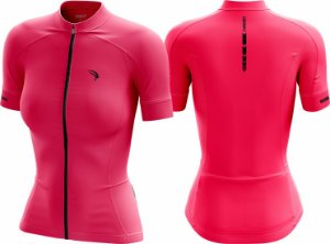 Camisa Cicloturismo Sódbike CLEAN Pink - Feminina