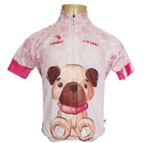Camisa Ciclismo Infantil Sódbike SD 21 - Cachorro