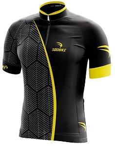 Camisa Ciclismo 001 amarelo
