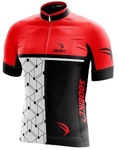 Camisa Ciclismo 005 Vermelha