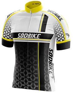 Camisa Ciclismo 003 Amarela