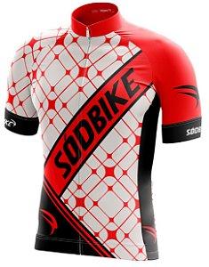 Camisa Ciclismo 004 Vermelha