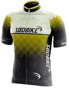Camisa Ciclismo 006 Amarela