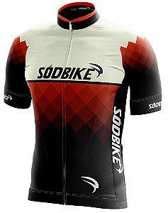 Camisa Ciclismo 006 Laranja