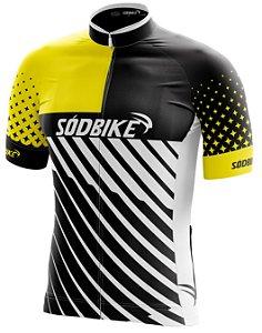 Camisa Ciclismo 008 Amarela