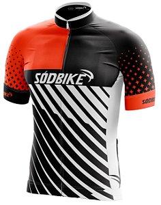 Camisa Ciclismo 008 Laranja