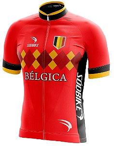 Camisa Ciclismo Bélgica