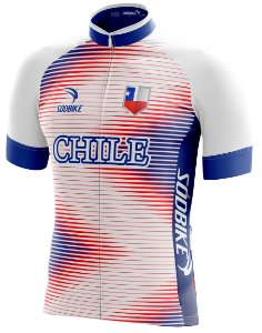 Camisa Ciclismo Chile
