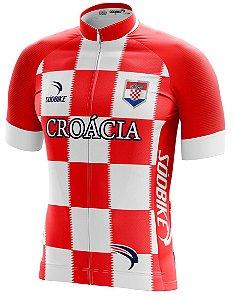 Camisa Ciclismo Croácia
