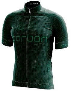 Camisa Ciclismo Carbon Verde