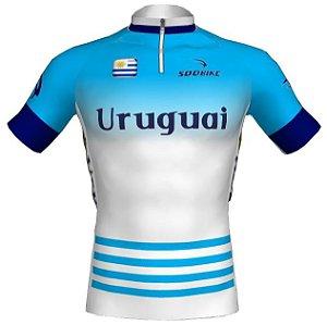 Camisa Ciclismo Uruguai