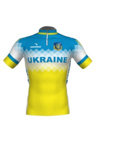 Camisa Ciclismo Ucrânia