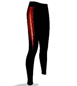 Calça Ciclismo Feminina 005 Vermelha