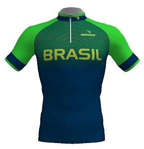 Camisa Ciclismo Infantil Olimpica