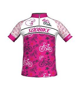 Camisa Ciclismo Infantil Let's Ride