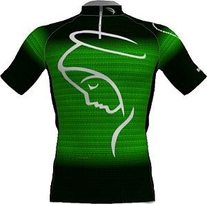 Camisa Ciclismo Infantil NSA-2 Verde