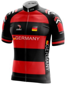 Camisa Ciclismo Alemanha