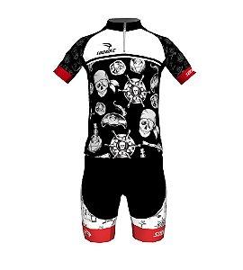 Conjunto Ciclismo Infantil Piratinha