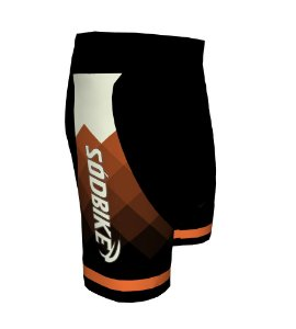 Bermuda Ciclismo 006 Laranja Escuro