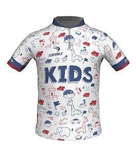 Camisa Ciclismo Infantil Kids
