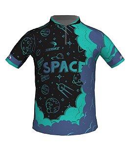 Camisa Ciclismo Infantil Space