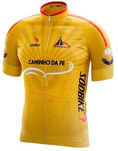 Camisa Ciclismo Caminho da Fé - Amarela