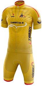 Conjunto Ciclismo Sódbike Caminho da Fé - Amarelo