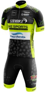 Conjunto Elite Pró W2 Sport - Preto