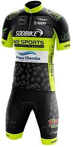 Conjunto Elite Premium W2 Sport - Preto