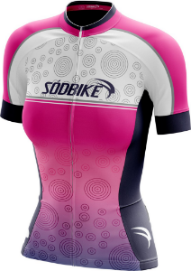 Camisa Ciclismo Sódbike F019 - Ziper Full