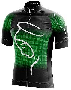 Camisa Ciclismo NSA-2 Verde ZiperFull