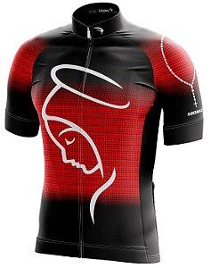 Camisa Ciclismo NSA-2 Vermelha