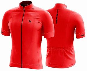 Camisa Cicloturismo Sódbike CLEAN Vermelha