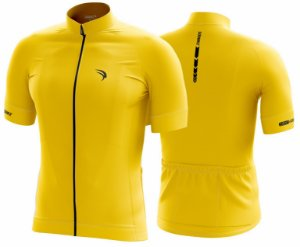 Camisa Cicloturismo Sódbike CLEAN Amarela