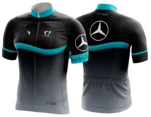 Camisa Ciclismo Sódbike S1 - Mercedes