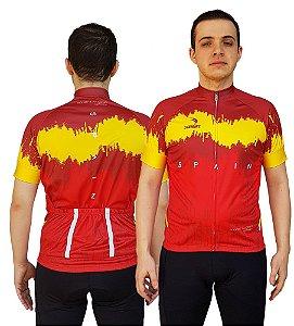 Camisa Ciclismo Sódbike Nações - Espanha