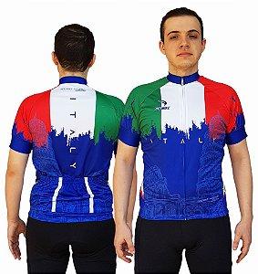 Camisa Ciclismo Sódbike Nações - Itália Azul