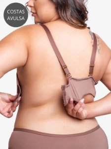 PALA COSTAS FLEX PLUS SIZE - CASTANHO