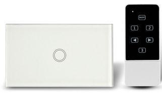 Interruptor Integente Touch 1 tecla branco
