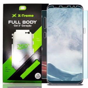 Pelicula de Gel Full Body Frente E Verso S8 Plus