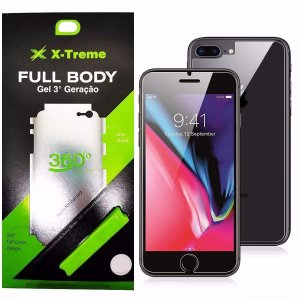 Pelicula de Gel Full Body Frente e Verso Iphone 7/8