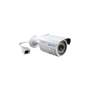 Câmera IP Bullet Metal 3,6 mm / 1.3 MP / IR 30m POE  IP66 36 leds Greatek