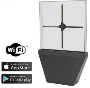 Holograma 3D - H100 Wifi / USB / Aplicativo para Android e IOS