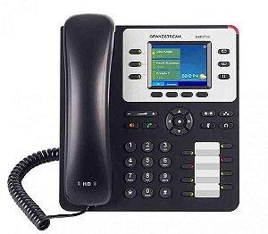 Telefone IP Grandstream GXP2130 3 linhas e Bluetooth