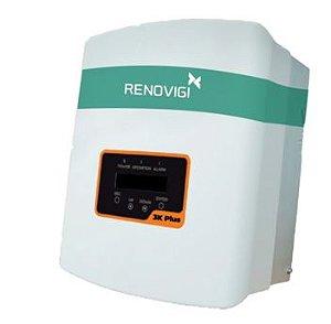 INVERSOR 3,0 KW - RENO-3K-PLUS - MONO - 220V/60HZ