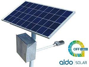 POSTE SOLAR GERADOR ENERGIA AUTONOMO ALDO SOLAR OFF GRID
